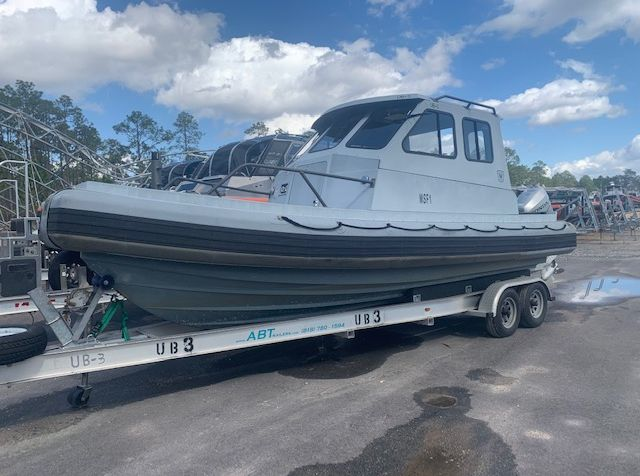 <strong>2006 Willard 7 Meter Rigid Inflatable With Cabin</strong>2006 Willard 7 Meter Rigid Inflatable With Cabin. One of two available in match set pair.