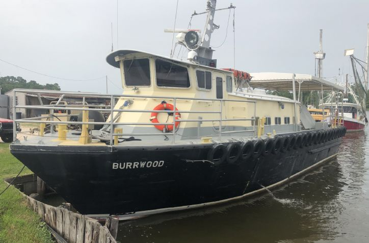 <strong>1979 Burgeron Survey Vessel </strong>1979 Burgeron Survey Work Vessel