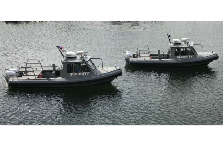 <strong>27 Sea Ark Ram Secuirty Vessels Match Pair</strong>2001 27 Sea Ark Security Vessels
