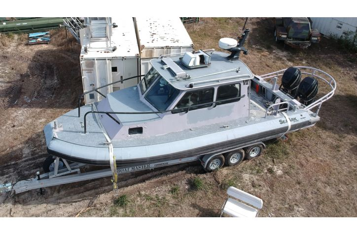 <strong>2003 Sea Ark Dauntless</strong>2003 Sea Ark Dauntless with twin Mercury 225 Outboards  2ea Available!!!!!!