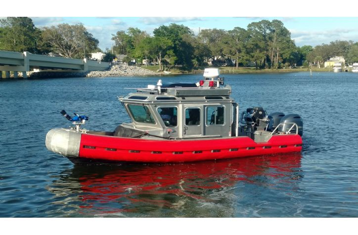 <strong>25  Safeboat FireBoat Build </strong>25 Safeboat Fireboat Conversion Renovation