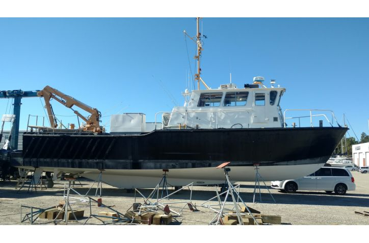 <strong>1979 55 ANB Workboat </strong>1979 Ex-USCG 55 Aids to Navigation Workboat