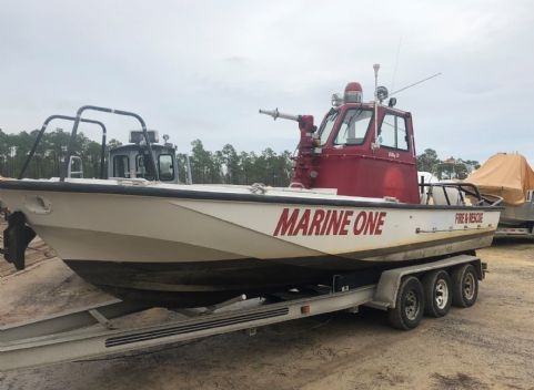 1987 Boston Whaler Fire/Rescue